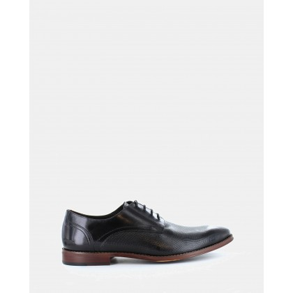 Staten Dress Shoes Black by Wild Rhino