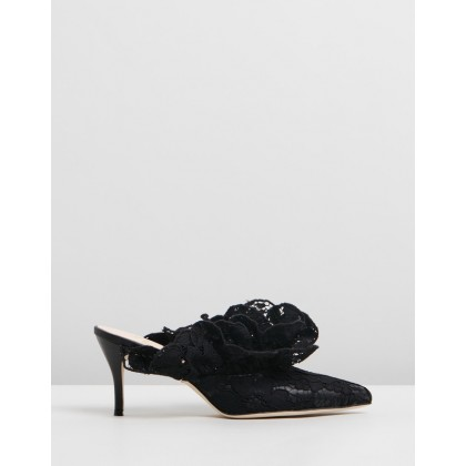 Stell Mules Black by Brother Vellies