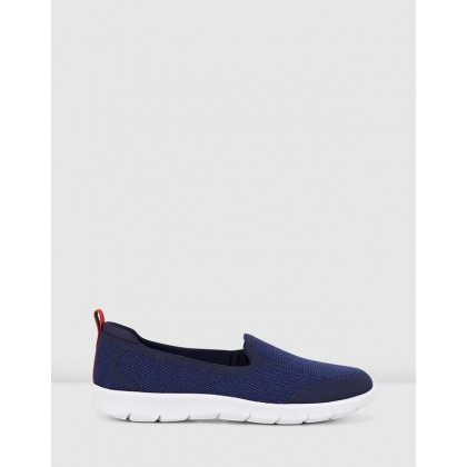 Step Allena Lo Navy Textile by Clarks
