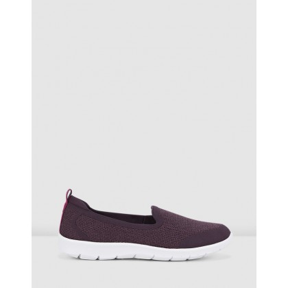 Step Allena Lo Aubergine by Clarks