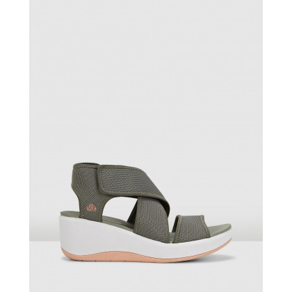 Step Cali Palm Dusty Olive by Clarks