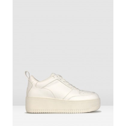 Stomp Lifestyle Sneakers White by Betts