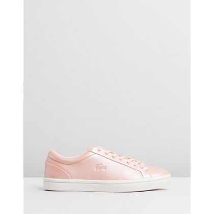 Straightset 119 1 CFA - Women's Natural & Off-White by Lacoste