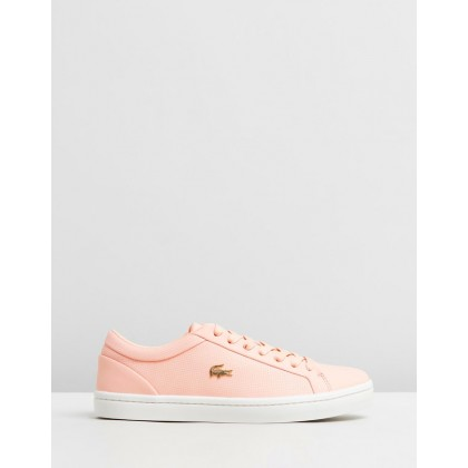 Straightset 119 Sneakers - Women's Natural & Off-White by Lacoste