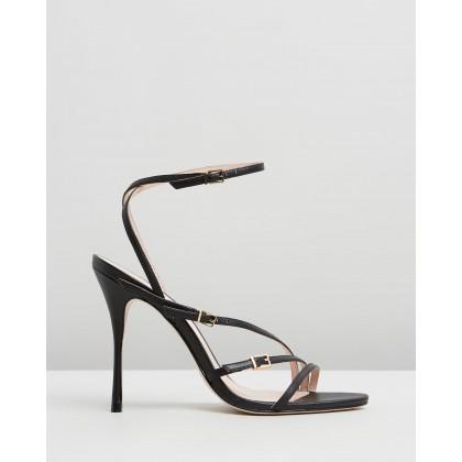 Strappy Heels Black by Schutz