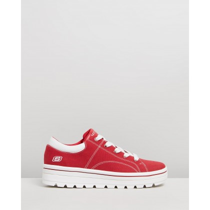 Street Cleats 2 - Bring It Back Dark Red by Skechers