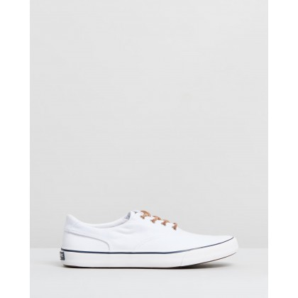 Striper II CVO Oxford Shirt Sneakers White by Sperry