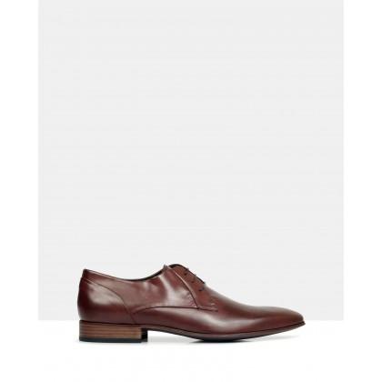 Stuart Leather Derby Shoes 1634 by Brando