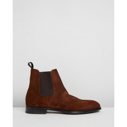 Suede Beatle Boots Snuff by Barrett