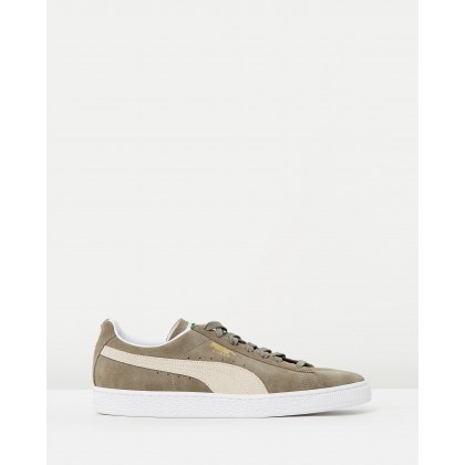 Suede Classic - Unisex Steeple Grey & White by Puma