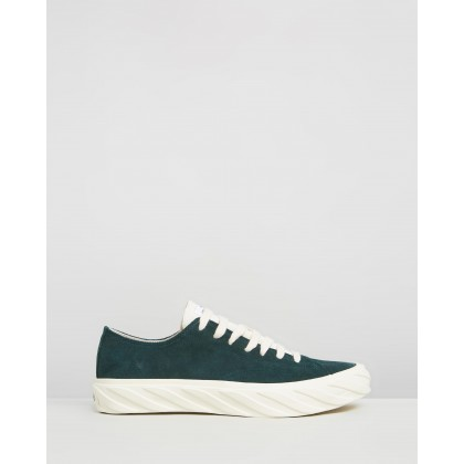 Suede Sneakers Green by Age