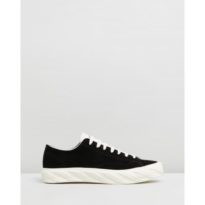 Suede Sneakers Black by Age