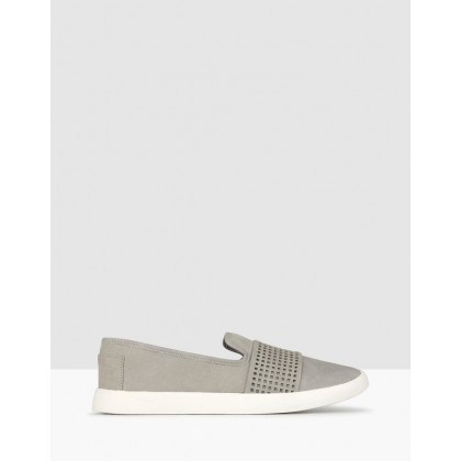 Sully Casual Slip On Shoes Grey by Betts