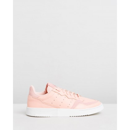 Supercourt - Women's Vapour Pink, Vapour Pink & Crystal White by Adidas Originals