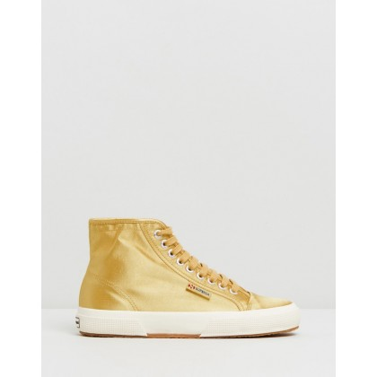 Superga x Alexa Chung 2493-Satin Yellow Mustard by Superga