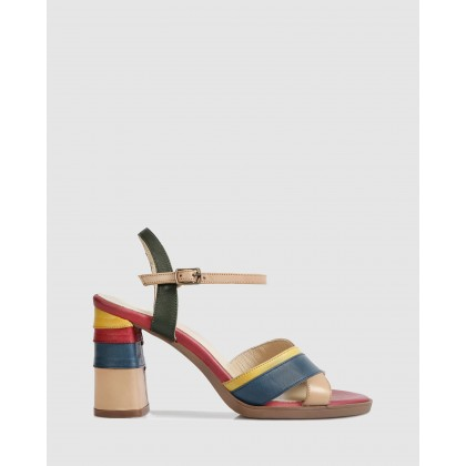 Suzanne Heeled Sandals Multi by S By Sempre Di