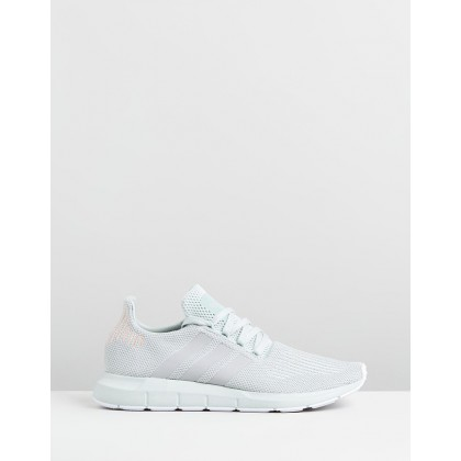 Swift Run - Women's Vapour Green, Grey Two & Footwear White by Adidas Originals