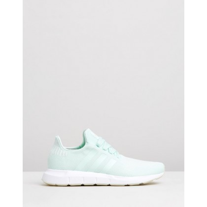 Swift Run - Women's Ice Mint, Off White & FTWR White by Adidas Originals