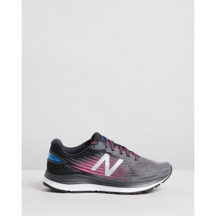 Synact Wide D Fit - Women's Black & Pink by New Balance