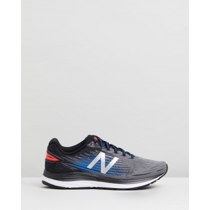 Syntact - Men's Castlerock, Black & Vivid Cobalt by New Balance