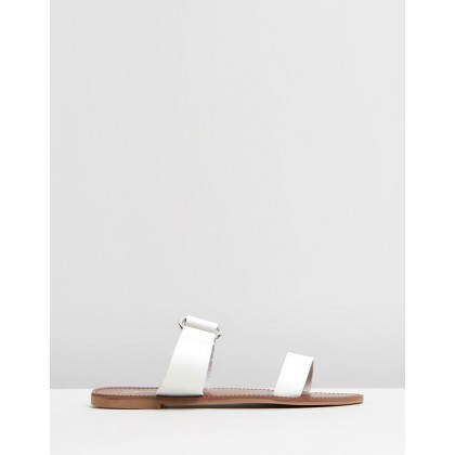 Tala Sandals White Smooth by Spurr