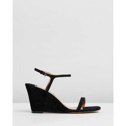 Tanita Black Suede by Tony Bianco