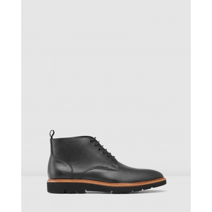 Tarrant Boots Black by Aquila