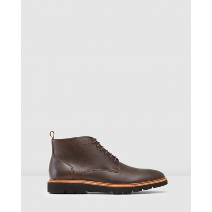 Tarrant Boots Brown by Aquila