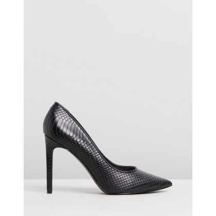 Tatiana Black Snake by Nine West