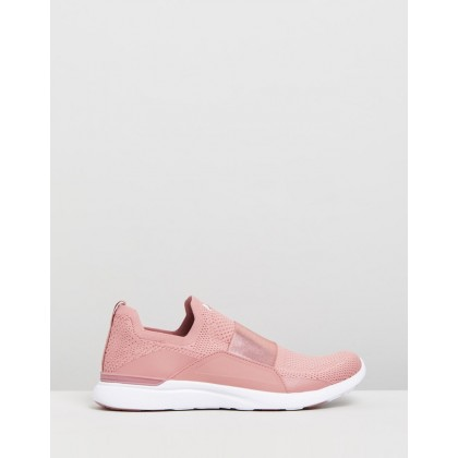 TechLoom Bliss - Women's Dusty Red & White by Apl