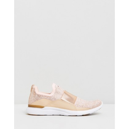 TechLoom Bliss - Women's Rose Gold & White by Apl