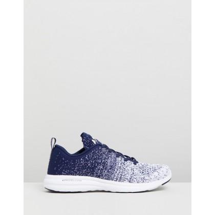 TechLoom Pro - Women's Navy & White Ombre by Apl