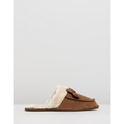 Tegan Snuff Suede by Polo Ralph Lauren