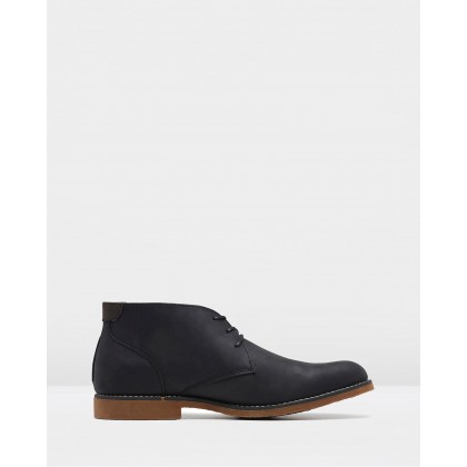 Terminal Black Rub by Hush Puppies