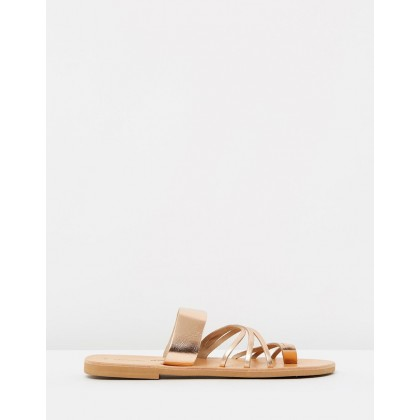 Thalia Sandals Rose Gold by Ammos