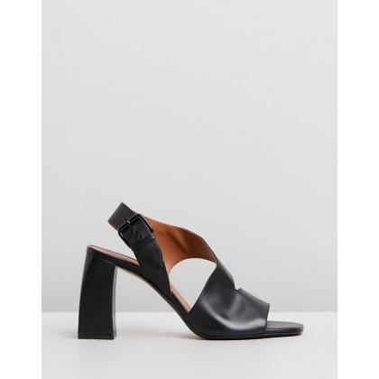 The Farrah Sandals Black by Joseph