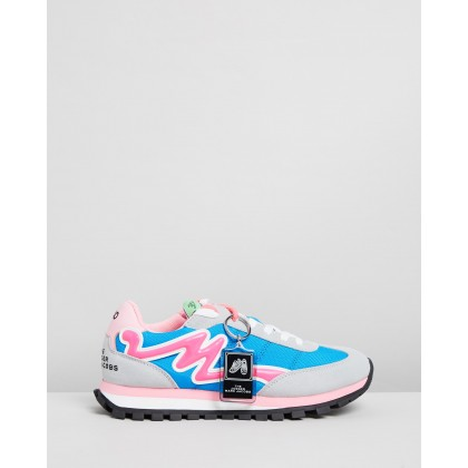 The Jogger Blue Multi by Marc Jacobs