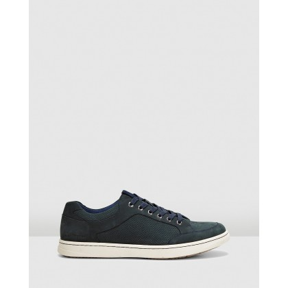 Thomas Navy Nubuck by Hush Puppies