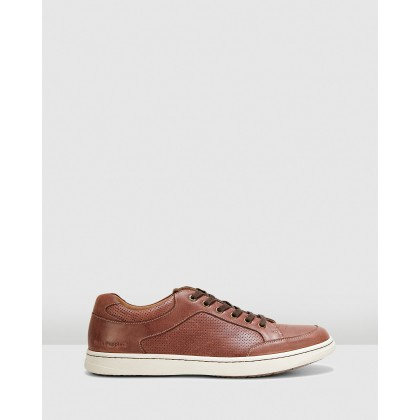Thomas Brown Oiled Leather by Hush Puppies