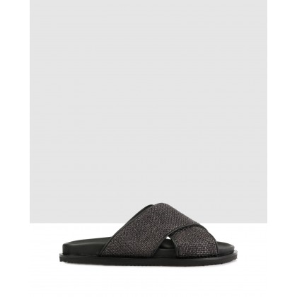 Thorp Sandals Nero by Brando