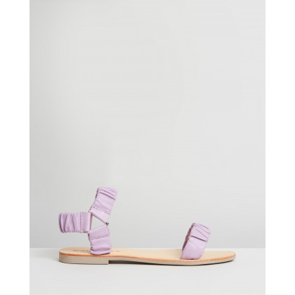 Tia Sandals Lavender by Caverley