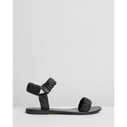 Tia Sandals Black by Caverley