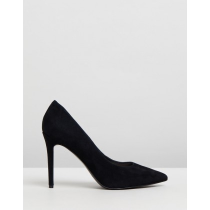 Timeout Black Suede by Nine West