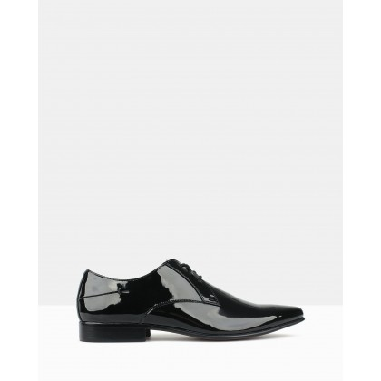 Titan Derby Dress Shoes Black Patent by Betts