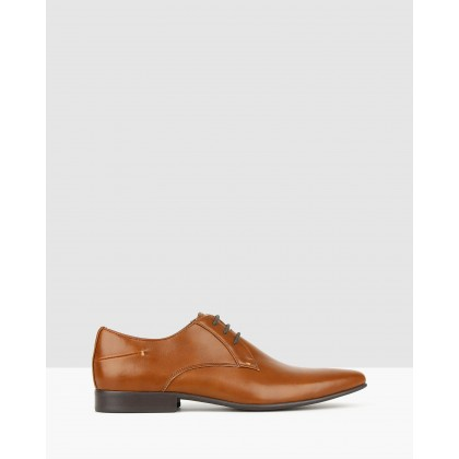 Titan Derby Dress Shoes Whiskey by Betts