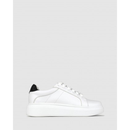 Tobie Lifestyle Sneakers White/Black by Betts