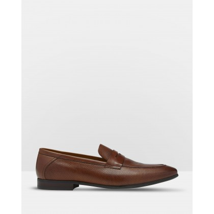 Tommy Leather Loafers Brown by Oxford