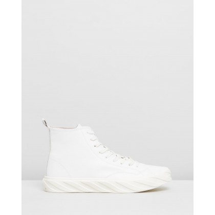 Top Sneakers White Leather by Age