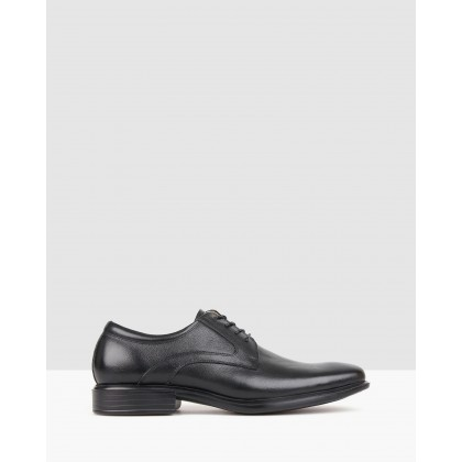 Trade Leather Dress Shoes Black by Airflex