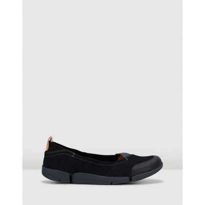 Tri Adapt. Black Nubuck by Clarks